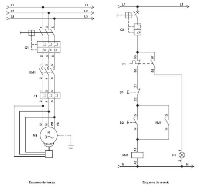 Freno mecanico motor electrico